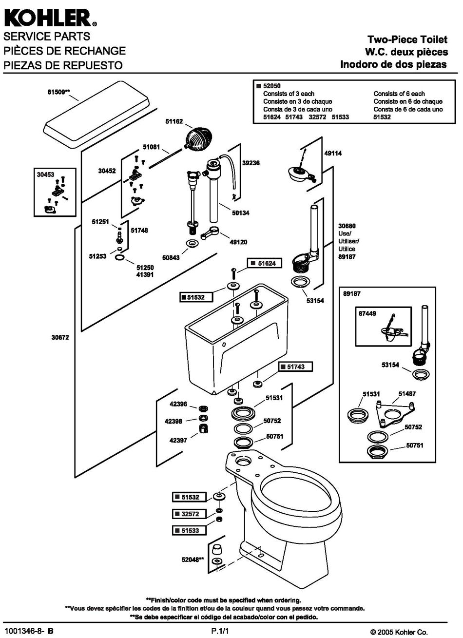 kohler toilet diagram  kohler  free engine image for user